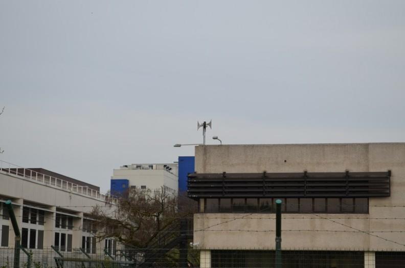 Una delle sirene ECN600 installate