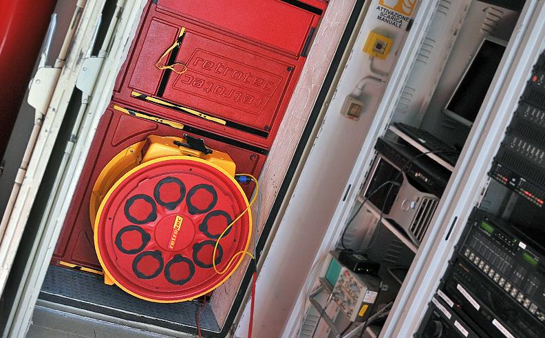 Door fan Integrity test - Equipment setup