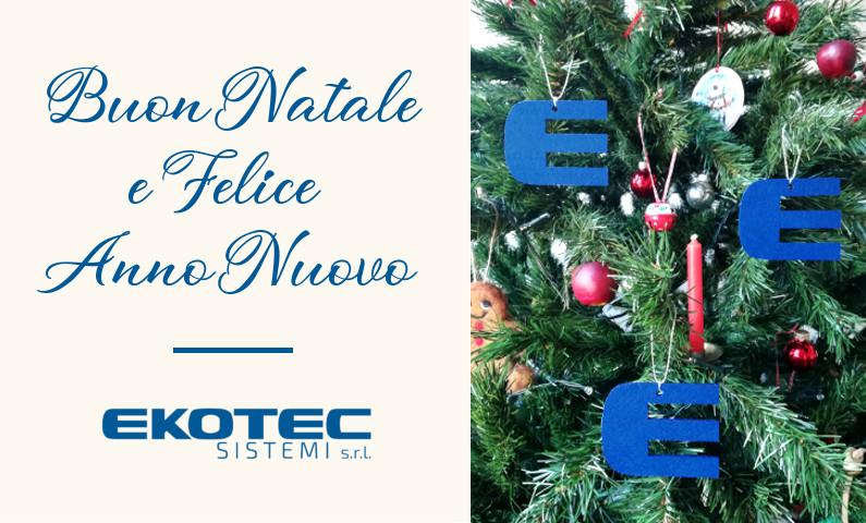 Natale 2018: Auguri da Ekotec!