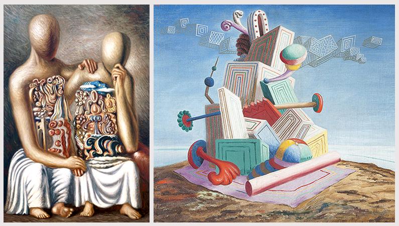 De Chirico e Savinio in mostra alla Fondazione Magnani Rocca