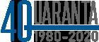 Logo 40 anni Ekotec
