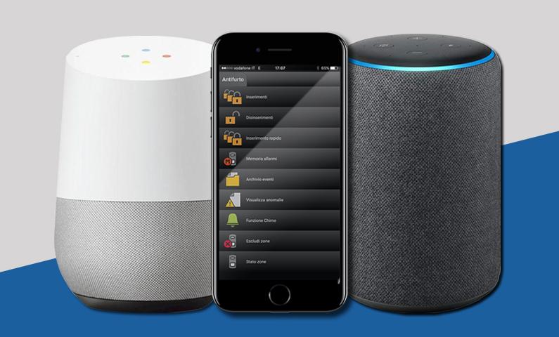 "Combivox Voice Cloud ""incontra"" Amazon Alexa e Google Home"