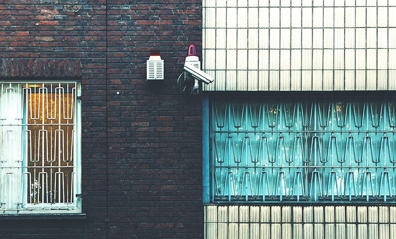 videosorveglianza su strada privata
