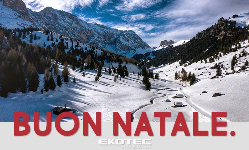 Natale 2020: buone feste da Ekotec