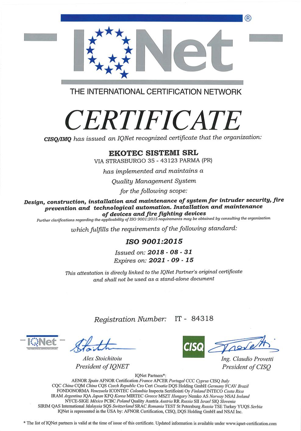 Certificazione ISO pg2