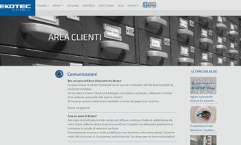 Area Clienti Ekotec